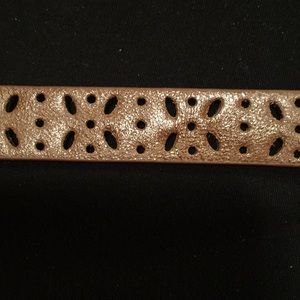 Accessories - Thin leather belt